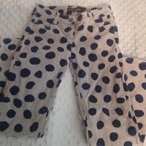 Girls MINI BODEN POLKA DOT PANTS 8 9